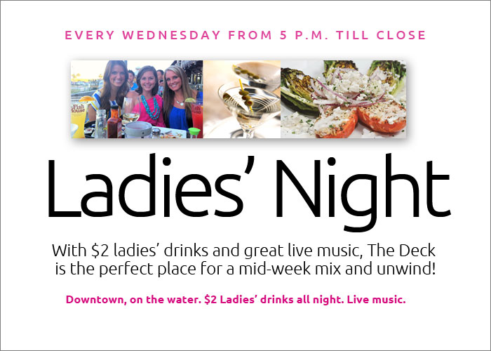 Ladies Night at the Fish House
